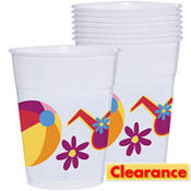 Fun in the Sun Plastic Cups 8ct
