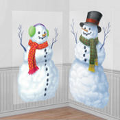 Snowmen Scene Setters 65in 2ct