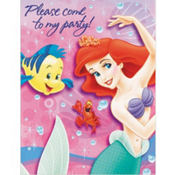 Little Mermaid Invitations 8ct