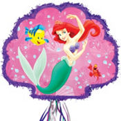 Pull String The Little Mermaid Pinata 19in