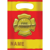 Firefighter Favor Bags 8ct