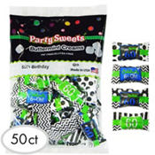 60th Birthday Pillow Mints 50ct