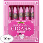 Pink It's a Girl Chocolate Cigars 10pc