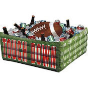 Inflatable Football Cooler 30in