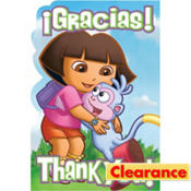Dora and Friends Thank You Notes 8ct