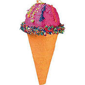 Ice Cream Cone Pinata 20in