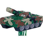 Pull String Tank Pinata