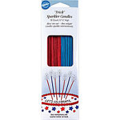 Patriotic Sparkler Candles 18ct