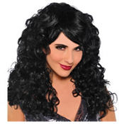 Seduction Black Wig