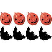 Halloween Lip Whistles 8ct