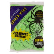 Glow in the Dark Stretch Spider Web 3.53oz