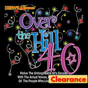 Over the Hill 40 CD