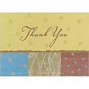 Pattern Play Thank You Notes 8ct