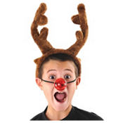 Light-Up Reindeer Nose