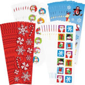 Christmas Stickers Value Pack 36 Sheets 17¢ per piece!