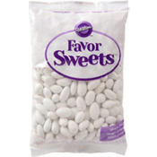 White Jordan Almonds Favor Candy 44oz