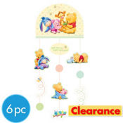 Pooh Baby Days Decorating Kit 6pc