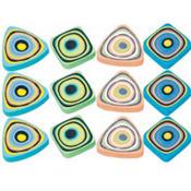 Swirl Erasers 12ct
