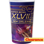 Plastic Super Bowl Cup
