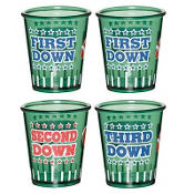Football Shot Glass Set 4ct