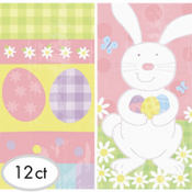 Easter Paper Treat Bags 10in 12ct