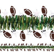 Football Tinsel Garland 15ft