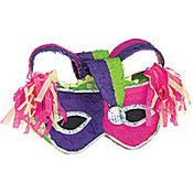 Mardi Gras Mask Pinata 22in
