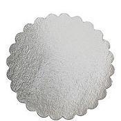 Silver 14in Round Cake Board