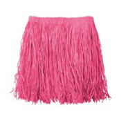 Adult Large Pink Mini Hula Skirt