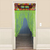 Totally Tiki Door Curtain 54in
