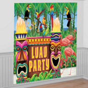 Giant Luau Party Decorating Kit