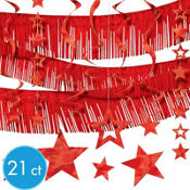 Red Foil Decorating Kit 21ct