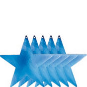 Blue Star Cutouts 9in 5ct