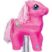 Pull String My Little Pony Pinata 17in