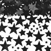 Metallic Black Star Confetti 2 1/2oz