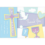 Celebration Communion Thank You Notes 8ct