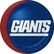 New York Giants Lunch Plates 8ct