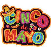 Glitter Cinco de Mayo Cutout