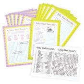 Baby Shower Games Word Sheets 24ct