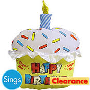 Sign & Sing Birthday Cupcake