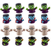 Monster Finger Puppets 18ct