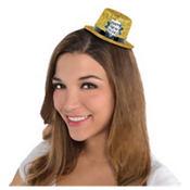 Glitter New Year's Mini Top Hat