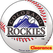 Colorado Rockies Magnet 4in