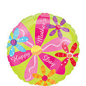 Mother's Day Pink Flower Balloon 18in