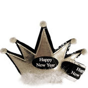Shot Glass New Years Tiara 6in