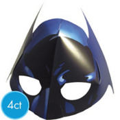 Batman Masks 4ct