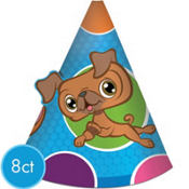 Littlest Pet Shop Party Hats 8ct
