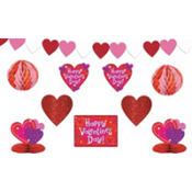 Love Crazy Valentines Day Decorating Kit 10pc