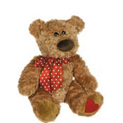 Sweet Cheeks Brown Bear 15in Plush