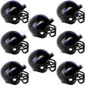Baltimore Ravens Helmets 8ct